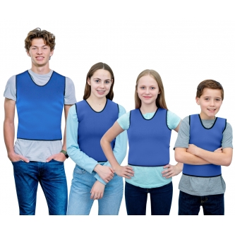 WEIGHTED - Sensory Compression Vest for Kids with Processing Disorders, ADHD, and Autism, Calming and Supportive with Adjustable Weight Fit